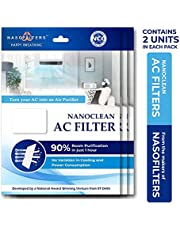 Nasofilters Nanoclean Air Purifier AC Filters - Pack of 3