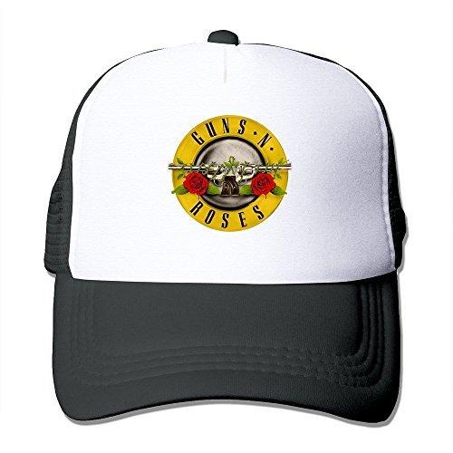 TAAT logotipo Guns N 'Roses Axl Rose Slash Duff McKagan negro gorra - negro -