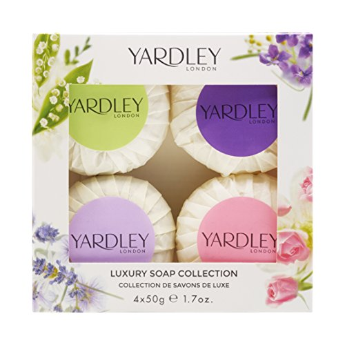 Yardley London Mixed Guest Soap Collection 4 x 50 g