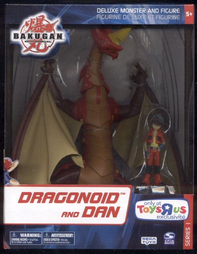 Dragonoid and Dan ** Bakugan ** Deluxe Monster & Figure ** Series 1