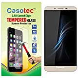 Casotec 2.5D Curved Edge Tempered Glass Screen Protector for Panasonic Eluga Note