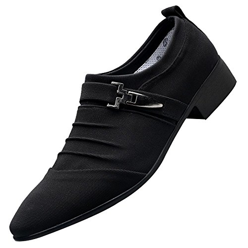 Zzzz Chaussure securité Ville Sneakers Espadrilles Travail Escarpins décontractées Course randonnée Hommes Souliers Occasionnels Pointu Formelles Toile Chaussures Mode