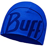 Original Buff Microfibra & Polar Gorro Buff® Logo Azul Skydiver - Polar Gorro Buff para Unisex, Color, Adulto