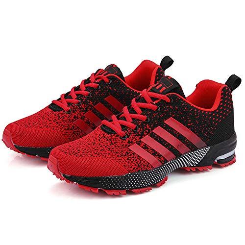 Gizayen Laufschuhe Herren Walking Tennis Athletic Trail Runner Casual Sneakers -