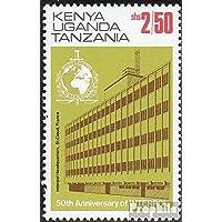 Ostafrikan. Communauté 262II 1974 50 Années interpol (Timbres pour les collectionneurs)