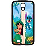 S4 i9000 Funda,Excellent Protection,Provides protection and prevents scratches,pc black Funda for samsung S4 i9000,Lilo and Stitch JZZDEJZW017932