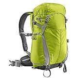 Mantona Elements Outdoor Rucksack (inkl. Regenschutzhülle, Laptop/Tabletfach, herausnehmbarer Kameratasche mit Tragegurt, geeignet für DSLR, Systemkamera, zwei Objektive und Kleinzubehör) hellgrün