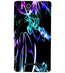 SONY XPERIA C3 ART Back Cover by PRINTSWAG