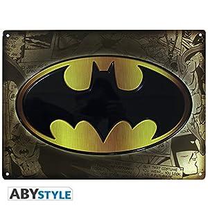 Batman 599386031 - Fig-Placa Metal