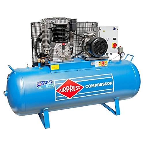 Compresor de aire a presión 10 PS/500 L/15 bar, tipo K500-1500S, compresor de pistón
