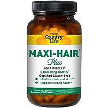 Country Life Maxi-Hair Plus 240 Veg Caps