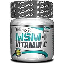 Biotech USA Msm, 1500 Vitamina C y Minerales - 150 gr
