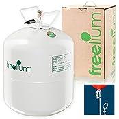 freelium® go - Helium / Ballongas To Go Flasche + 50x Ballonband