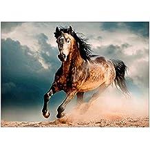 Diamante pintura, pintura de caballo nelnissa bordado DIY 5d Round Diamond Mosaic Kit de punto de cruz