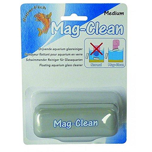 SuperFish Aquarium Scheiben-Reinigungsmagnet Mag-Clean schwimmend, Größe:M 95x30mm