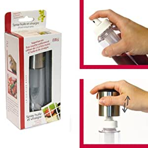 Easy make spray vaporisateur huile et vinaigre inox 15 for Vaporisateur cuisine