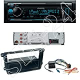 Einbauset : Kenwood KDC-300UV CD MP3 USB AUX Autoradio für Skoda* Fabia (5J) 03/2007 - 06/2014 4/5-türer Skoda Fabia (5J) 10/2007 - 06/2014 Kombi / Octavia II (1Z Facelift) 01/2009 - 02/2013 / Octavia II (1Z Facelift) 01/2009 - 04/2012 Scout Skoda Rapid** (NH) 10/2012 -> Stufenheck Skoda Rapid Spaceback (NH) 09/2013 -> 4/5-türer Skoda Roomster (5J) 09/2006 -> Skoda Praktik (5J) 04/2007 -> Skoda Superb (3T4) 07/2008 -> Stufenheck Skoda Superb (3T5) 01/2010 -> Kombi Skoda Yeti*** (5L) 08/2009 ->
