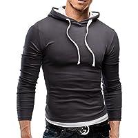 MERISH Hoodie Herren Slim Fit Langarm Shirt Modell 06