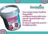 Bambehina Gesso, Grundierung für feste und textile Malgründe wie Gipsabdrücke, Leinwände....