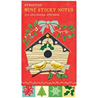Birdhouse Mini Sticky Notes: 300 Decorated Stickers - Mini Birdhouses