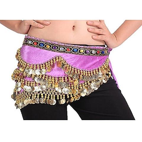 Salsa Tenues - 318 Brillante Sequin Light Purple Belly Dance