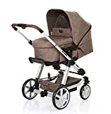 ABC Design Kombi-Kinderwagen Set Turbo 4 - inkl. 3in1 Tragewanne für Neugeborene,...