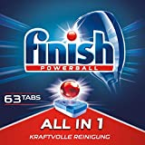 Finish All In 1, lavastoviglie Tabs, XXL, 60 + 3 Tablet