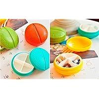 Efbock 4 Fach-Spielraum-Pille-Kasten-Organisator-Tablette-Medizin-Speicher-Zufuhr-Halter 2pcs preisvergleich bei billige-tabletten.eu