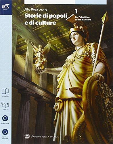 Storie di popoli e culture. Con Storie alimentazione e ospitalit-Extrakit-Openbook. Per le Scuole superiori. Con e-book. Con espansione online: 1