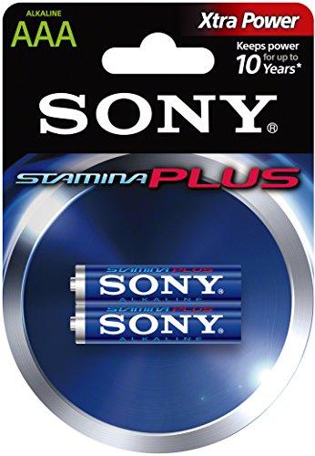 Sony AM4B2D Blister Alkaline Stamina Plus Micro, AAA, LR03 (1,5V, 2er Pack)