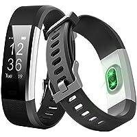 BOGOSS Smart Band, fitness tracker cardiofrequenzimetro sensore Activity Tracker Bluetooth pedometro sonno monitor contapassi Slim orologio con touch screen