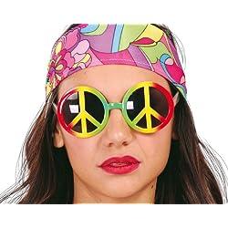 Guirca - Gafas de Hippie multicolor (18224)
