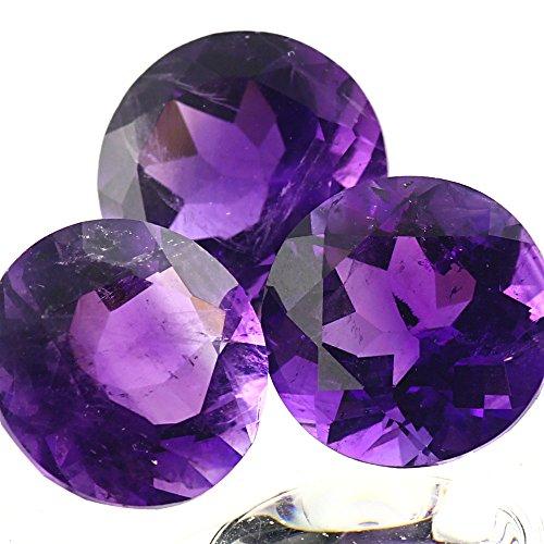 Be You Violet Naturelle Afrique Amethyste AAA Qualité 1.25 mm Coupe Brillante Rond Caillou 500