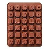 Mini Moule Silicone 30 Cavites Lettre Pour Chocolat Gateau Biscuit Cookies