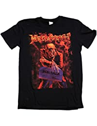 Old Skool Hooligans Megadeth T Shirt - Peace Sells But Who's Buying? 100% Official