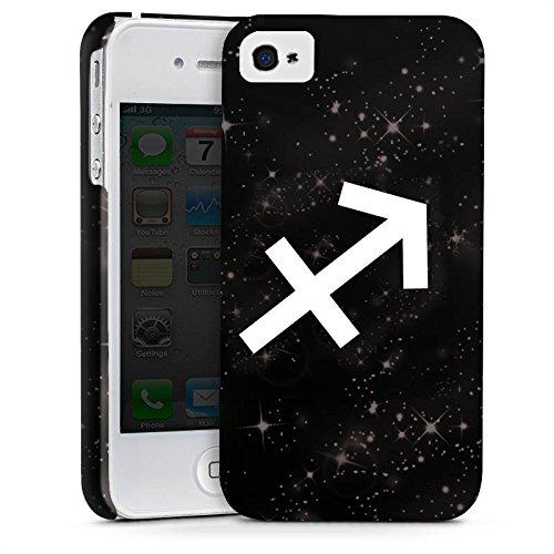 Apple iPhone X Silikon Hülle Case Schutzhülle Sternzeichen Schütze Esoterik Premium Case glänzend