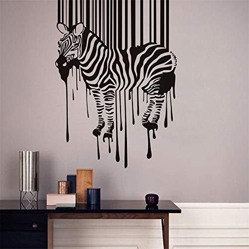wandaufkleber Zebra-Tiere für Kinderzimmer Kinderzimmer Wand Dekor Home Decoration (Und Zebra-wand-dekor Türkis)