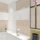 Wallpaperpvcthickening Marmor Renovieren Aufkleber Pvc Selbstklebende Tapete Tapete Wasserdicht Wallboard Tisch Schrank Möbel (0,45 * 10 Mt)