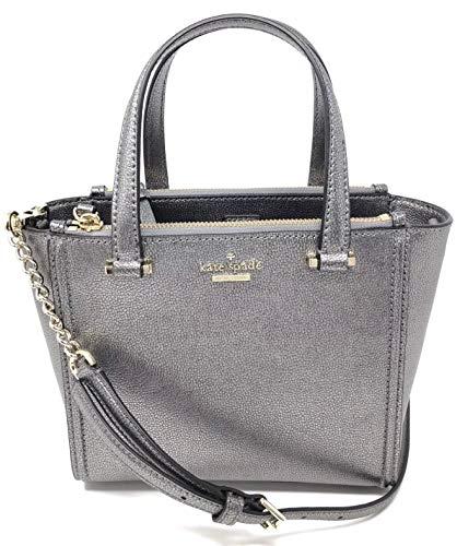 Kate Spade Kona Patterson Drive Crossbody Handbag - Pewter (Dark Silver)