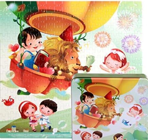 Puzzle jouet éducatif Puzzle éducatif en bois de haute qualité jouet d'apprentissage précoce cadeaux fantastiques pour les enfants (ballon à air chaud) | Emballage élégant Et Robuste