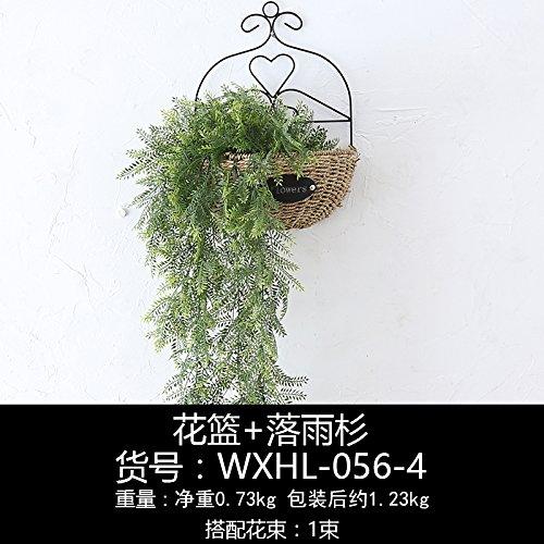 un-idilliaco-emulazione-parete-fiore-decorazioni-creative-parete-boutique-verde-sik-parete-cesti-di-