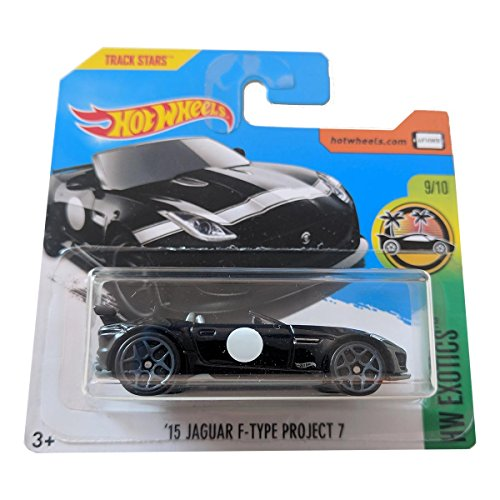 Hot Wheels '15 Jaguar F-Type Project 7 - HW Exotics 141/365 Black