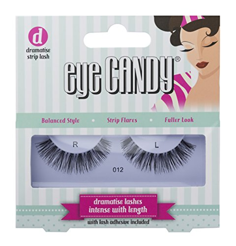 Eye Candy 012 Faux cils look naturel Grand volume Style 50's