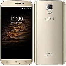 UMI Roma X 5.1 Android móvil set 3 G 5,5 pulgadas 1280 * 720p HD MT6580 quad core 1 G RAM 8 G ROM 13.0MP GSM WCDMA (de oro)