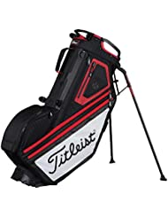 Titleist Players 14 Standbag Negro/Blanco/Rojo