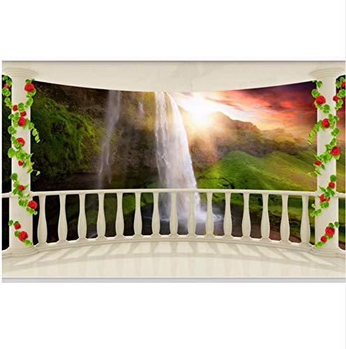 Bilderwelten Wohnzimmer-3D 308cmx220cm