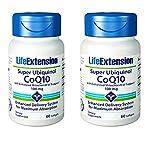 Life Extension Super Ubiquinol CoQ10 with Enhanced Mitochondrial Support 100mg 60 Softgels