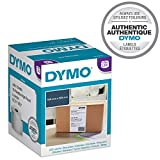 DYMO LW-Versandetiketten (Extragroße, für LabelWriter 4XL-Beschriftungsgeräte, 104mm x 159mm, Rolle mit 220Etiketten, schwarzer Druck auf weißem Untergrund, authentisches Produkt)