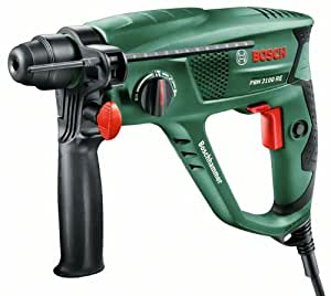 Bosch Bohrhammer PBH 2100 RE (Tiefenanschlag, Zusatzhandgriff, Koffer, 550 Watt)