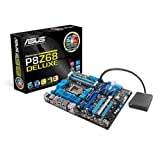 Asus P8Z68 Deluxe Sockel 1155 Mainboard (ATX, Intel Z68, 4x DDR3 Speicher, USB 3.0)